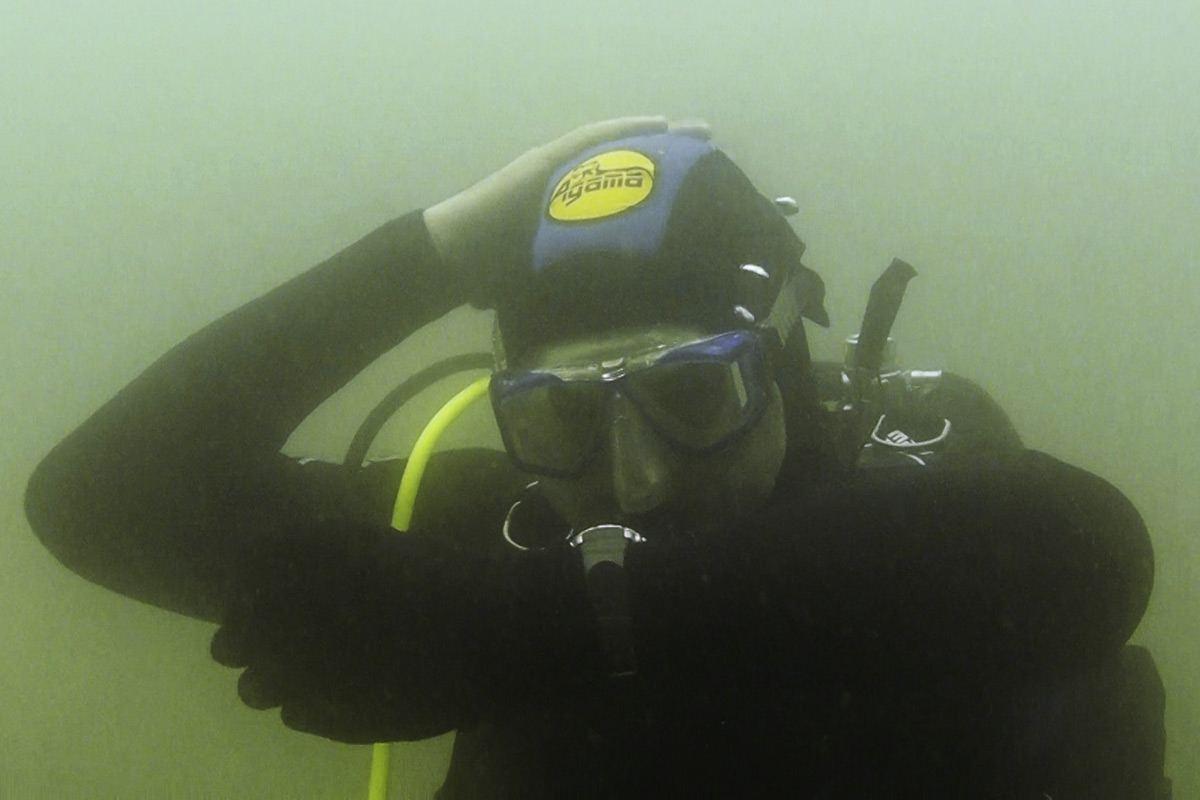 Podvodná 3D fotogrametria test pod vodou