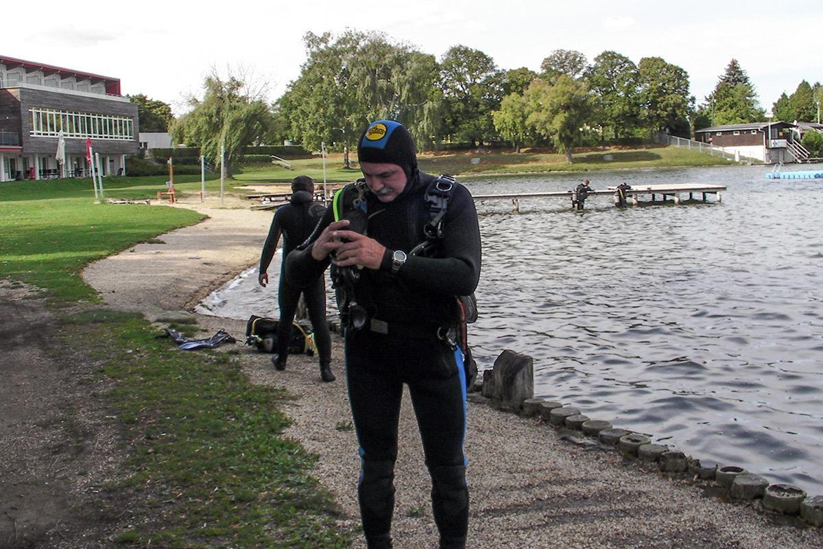 Podvodná 3D fotogrametria testovanie
