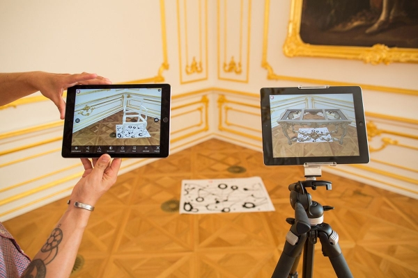 3D rozšírená realita - Bratislavský hrad