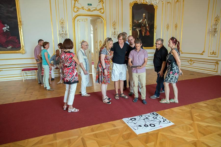 AR prezentácia Bratislavský hrad