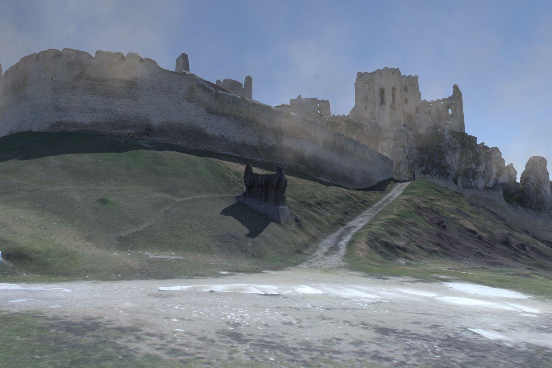 3D virtuálna prehliadka hrad Beckov