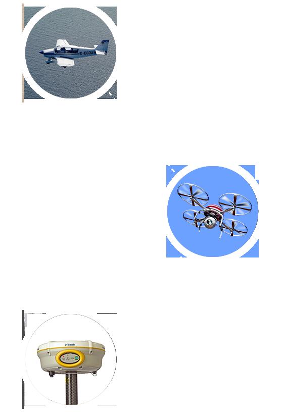 Letecká fotogrametria - UAS/UAV - GNSS meranie
