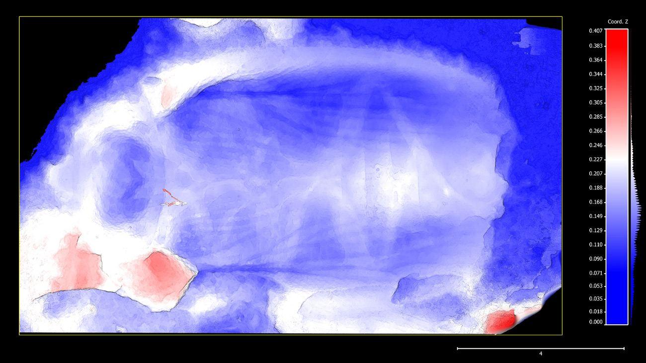 3D skenovanie reliéfu fotogrametria