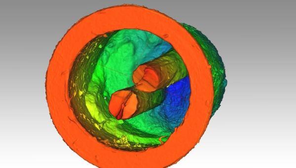 3D skenovanie súčiastka