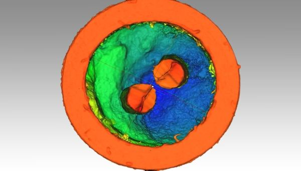 3D skenovanie súčiastky