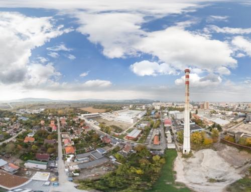 Sférická letecká snímka