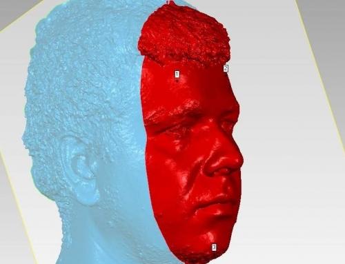 Skenovanie ľudskej tváre a tela