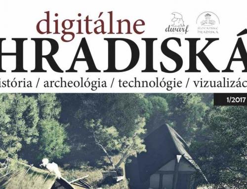 Náš článok v časopise digitálne HRADISKÁ