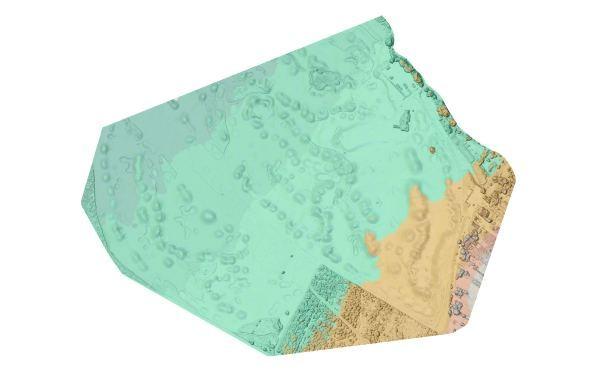3D modely územia povrchu