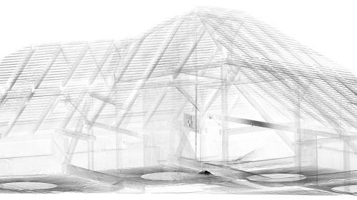 3D skenovanie stavby