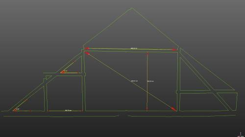 3D skenovanie budovy