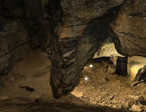 Zameranie a 3D skenovanie jaskyne