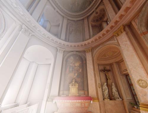 3D skenovanie historickej budovy (Kaplnka sv. Ladislava, Primaciálny palác)