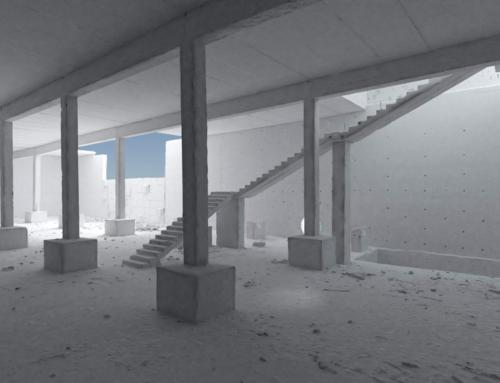 3D skenovanie interiéru budovy