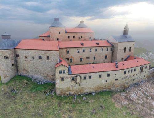 3D model hradu Krásna Hôrka