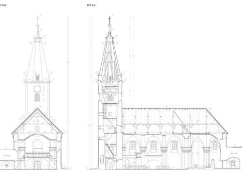 Zameranie a digitalizácia kostola